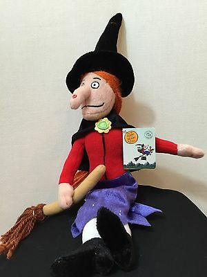 Room on the Broom Witch 15 inch Safe Embroidered Plush by Kids Preferred KP73009