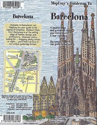 MapEasy's Guide map to Barcelona, Spain