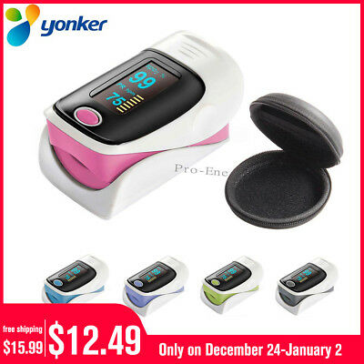 OLED Fingertip Finger Pulse Oximeter  SpO2 Blood Oxygen PR Heart Rate Oximetro
