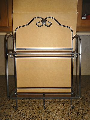 Longaberger Wrought Iron Envelope Rack NIB