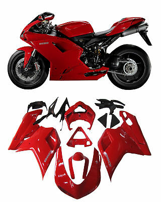 Fit For Ducati 1098/1198/848 2007-2011 Bodywork Fairing ABS Injection Mold 17# K