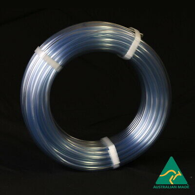 Clear Vinyl Tubing 10mm x 30m – Food Grade PVC Plastic Tube AS2070 Water Hose