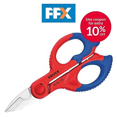 Knipex 95 05 155 SB Electricians Shears 155mm