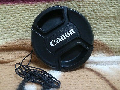 Canon  Snap On Lens Cap 58mm Cover protector for Canon 18-55 55-250  58mm