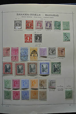Lot 25428 Collection stamps of Bahamas 1860-1996.