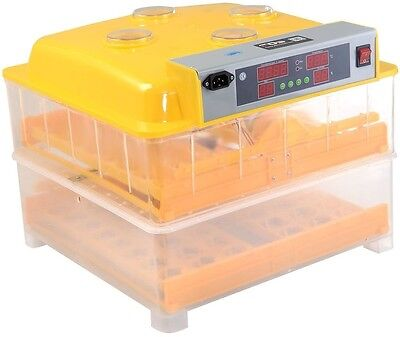 Digital Clear Egg Incubator Hatcher Auto Temperature Control Turning Chicken New