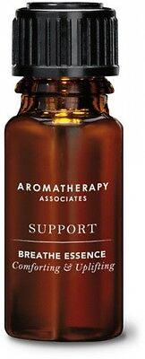Aromatherapy Associates Support Breathe Inhalation Essence 10ml New Free Postage
