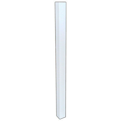 White Primed Newel Posts - White Painted Newel Post - White Stair Parts - Stairs