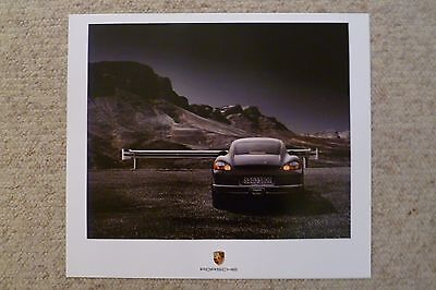 2007 Porsche Cayman S Coupe Showroom Advertising Poster RARE!! Awesome L@@K!!
