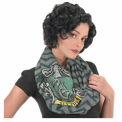 Harry Potter Slytherin House Hogwarts Lightweight Infinity Scarf Stripes
