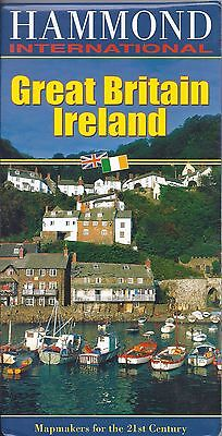 Map of Great Britain & Ireland, by Hammond Maps