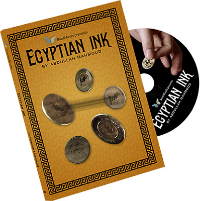 Egyptian Ink (DVD and Gimmick) by Abdullah Mahmoud and SansMinds Creative Lab -