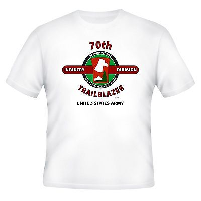 70Th Infantry Division & World War Ii Campaigns Veteran  2-Sided Shirt