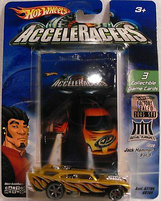 2005 Hot Wheels Acceleracers Metal Maniacs Jack Hammer 9/9 From Factory Set