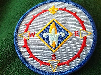 Discontinued Cub Scout BSA Webelos Compass Point Emblem Patch New