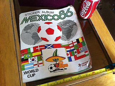 Sticker Album Mexico 1986 Football World Cup Rare Panini