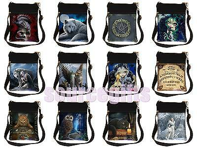 New Lisa Parker Anne Stokes ladies gothic fantasy art wicca pagan  shoulder bag