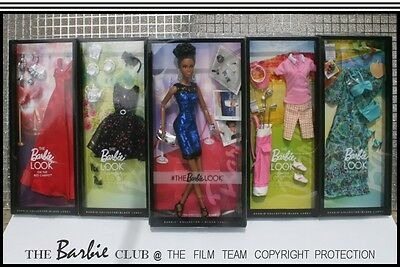 New Look Night Out Barbie And 4 Ensembles With Accessories For Adult Collectors