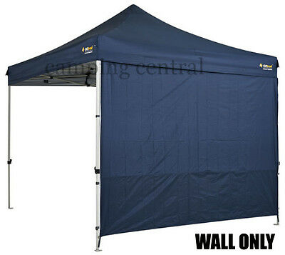 OZTRAIL 3M (BLUE) GAZEBO WALL HEAVY DUTY DELUXE Pavilion Solid 3mtr Wall Walls
