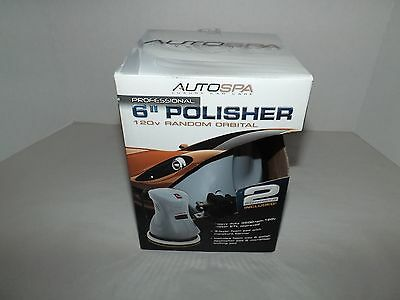 "Autospa 6"" Inch Orbital Polisher 120V Power"