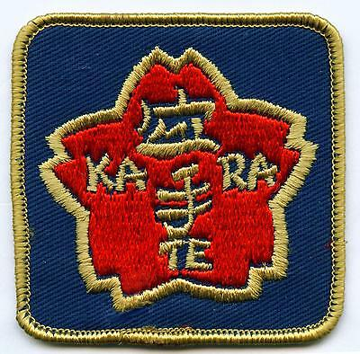 KARATE Aufnäher Patch