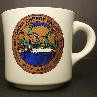 Vintage Boy Scouts of America - Camp Cherry Valley BSA Mug - From Late 70s - 80s
