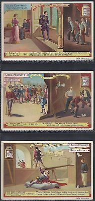Liebig-*s0459*-Full Set Of 6 Cards- German - Behind The Scenes (Theatre)