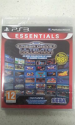 sega mega drive ultimate collection ps3 new