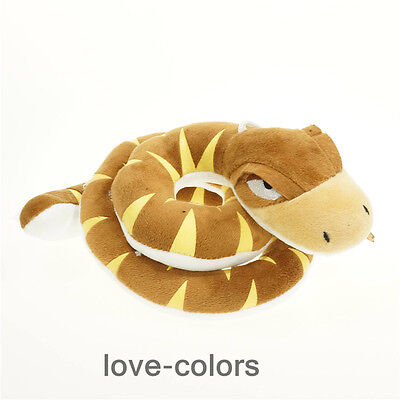 "New The Jungle Book Movie Kaa Snake Plush Doll Figure Soft Toy 10cm 4"" Gift"