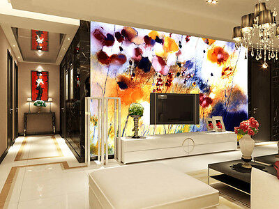 3D Flower Painting 434 WallPaper Murals Wall Print Decal Wall Deco AJ WALLPAPER
