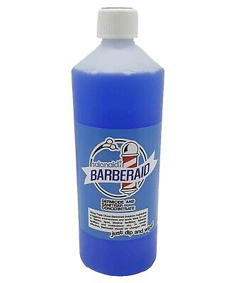 Barbercide disinfectant Solution for Salon, Medical, Athletics Barbicide 1L