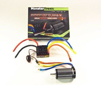 Monstertronic Brushless Combo Regler Motor 1:8 2650KV bis 6S #MT2318