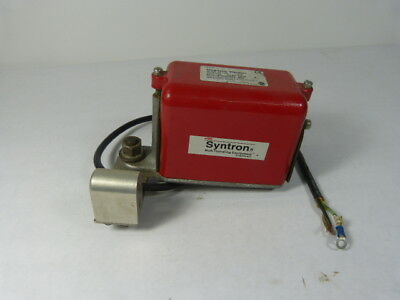 Syntron V4-RC Magnetic Vibrator 115V .9A ! WOW !
