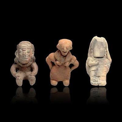 Minerva Gallery - Lot of 3 Pre-Columbian Jamacoaque Figures
