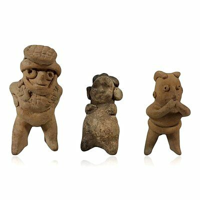 Minerva Gallery - Three Pre-columbian Pottery Figures