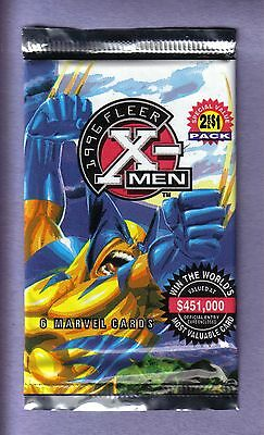 1996 Fleer  MARVEL X-Men Foil Pack!