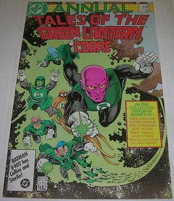 GREEN LANTERN CORPS ANNUAL #2 (DC Comics 1986) BLACKEST NIGHT (FN) Alan Moore