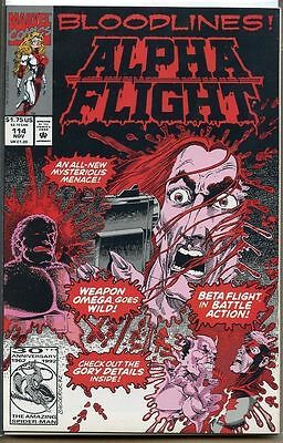 Alpha Flight 1983 series # 114 fine comic book