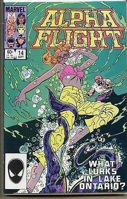 Alpha Flight 1983 series # 14 very fine comic book