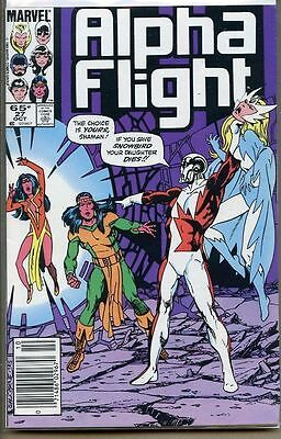 Alpha Flight 1983 series # 27 UPC code very fine comic book