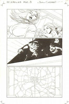 Astonishing X-Men #8 p.3 - Written by Joss Whedon - 2005 art by John Cassaday