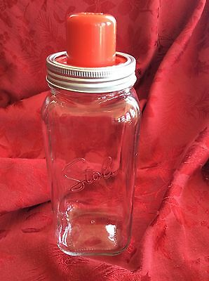 Stolichnaya~ Stoli Vodka Original Juicer+Mason Jar Cocktail Shaker FREE SHIPPING