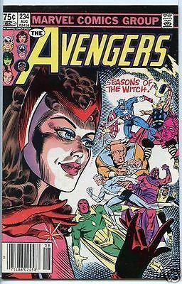 Avengers 1963 series # 234 Canadian Variant very fine comic book