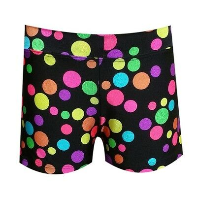*clearance* Youth Dance Gymnastics Shortie Shorts-- *dots* Youth 6 (Xs) Nwot