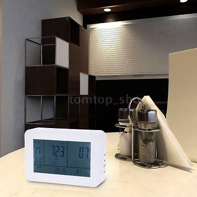 LCD Carbon Dioxide Detector CO2 Monitor 0-9999ppm Temperature Humidity Meter