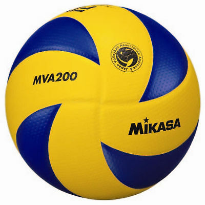 Mikasa FIVB Volleyball Official Olympic Game Ball Dimpled Surface MVA200
