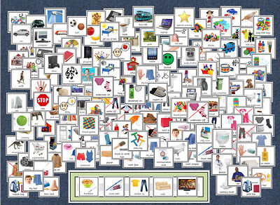 160+ PECS / Boardmaker Cards Pack - Home / Clothes - Now / Next - SEN / Autism