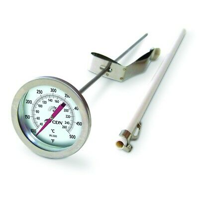CDN Insta-Read Long Stem Fry Thermometer - Model: IRL500