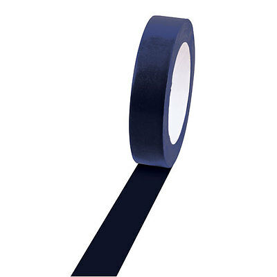 "Champion Sports Vinyl Floor Tape - 1"" x 36yd, Navy, For Boundaries & Game Lines"