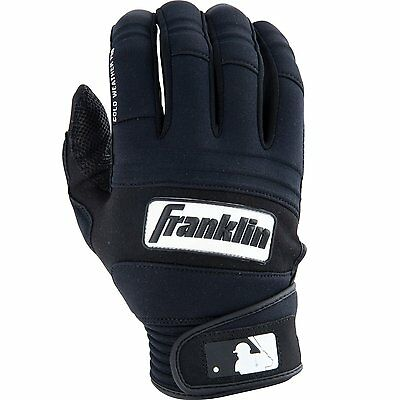 Franklin Sports - Cold Weather Pro Batting Gloves - Youth Medium